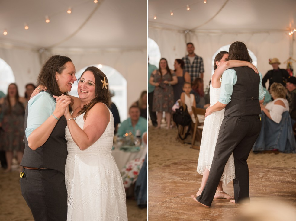 Rehoboth Delaware Beach Wedding Reception