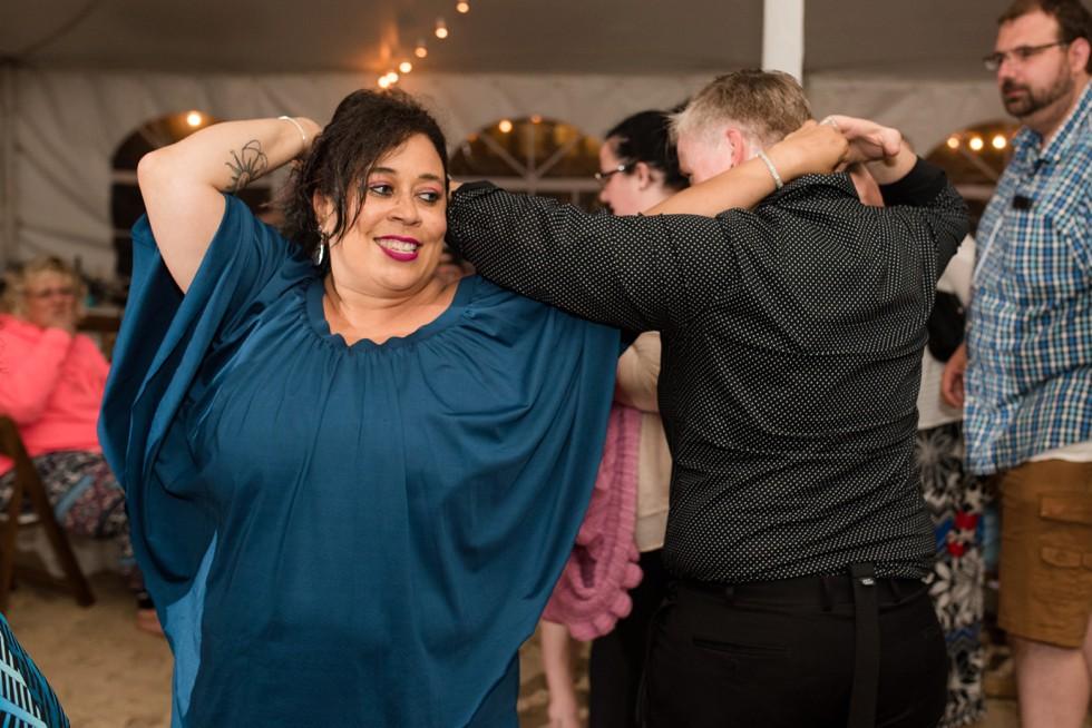 Indian River Life Saving Station wedding reception
