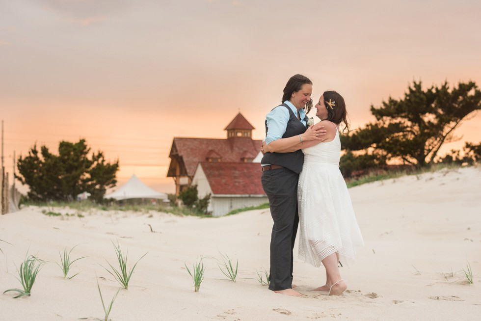 Rehoboth Beach wedding Rainbow