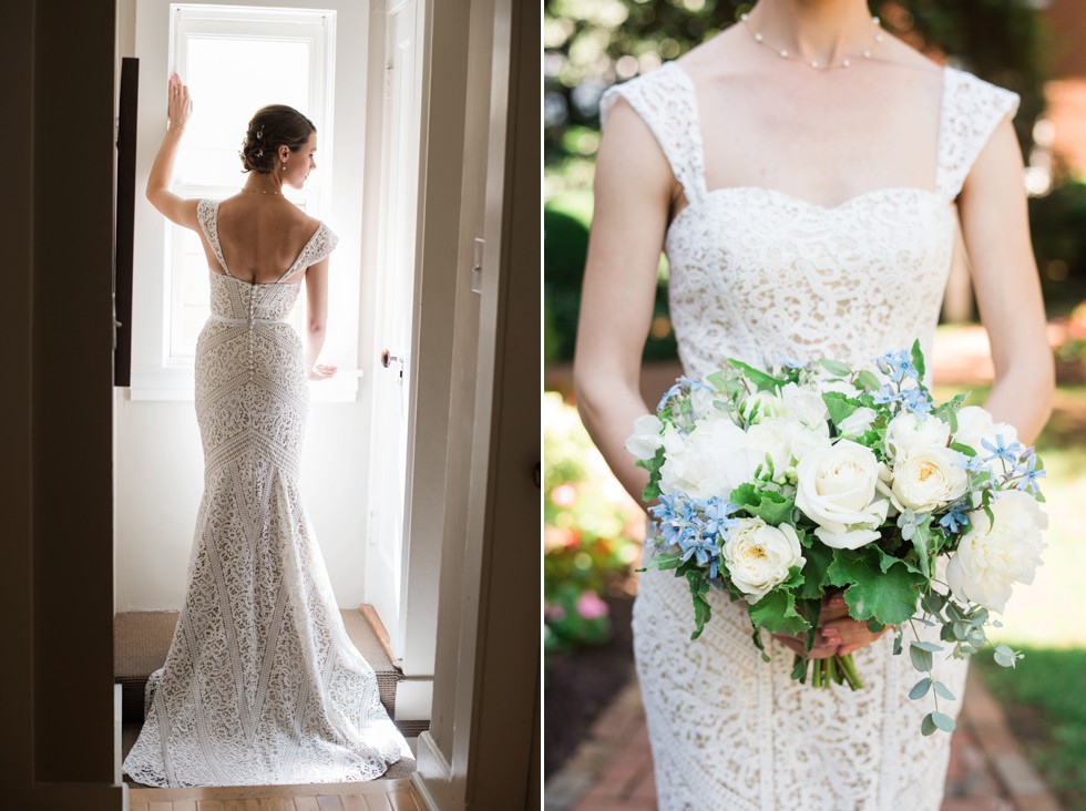 Historic Annapolis wedding bridal prep