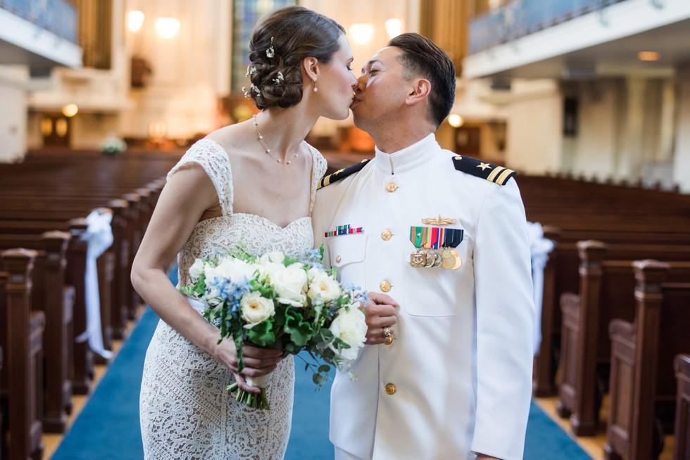 USNA Main Chapel Wedding Ceremony