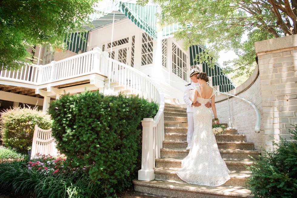 Buchanan Garden Naval Academy Wedding
