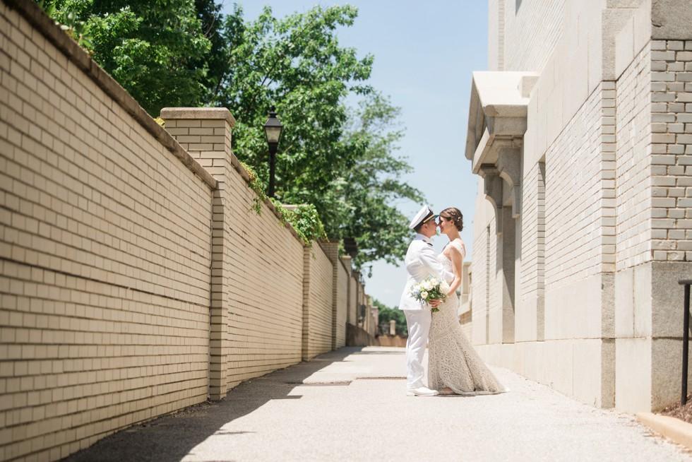 Naval Academy Club Wedding