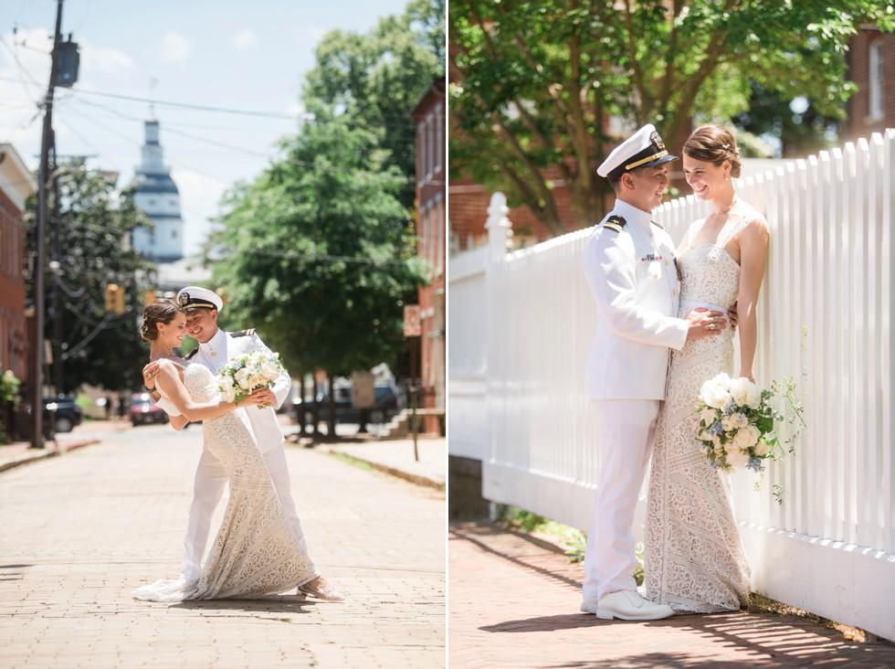Historic Annapolis Wedding Maryland Avenue