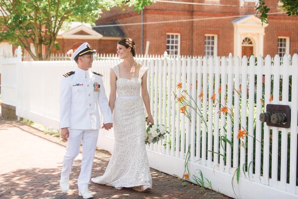 Historic Ogle Hall Wedding Annapolis Maryland