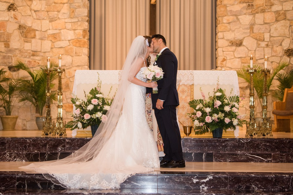 Indoor wedding ceremony Our Lady of Hope Blackwood NJ