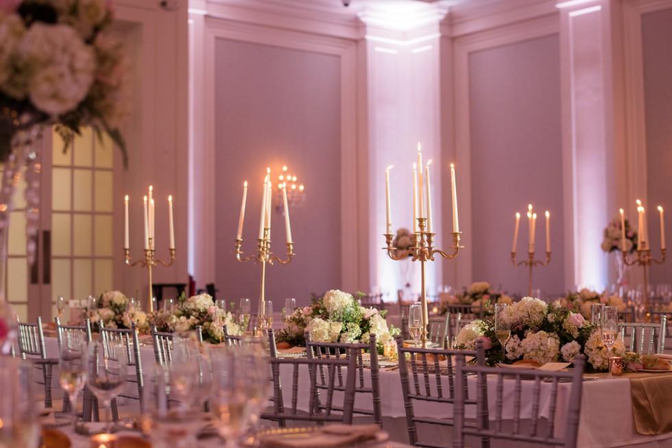 Ballroom at Ellis Preserve Wedding Reception