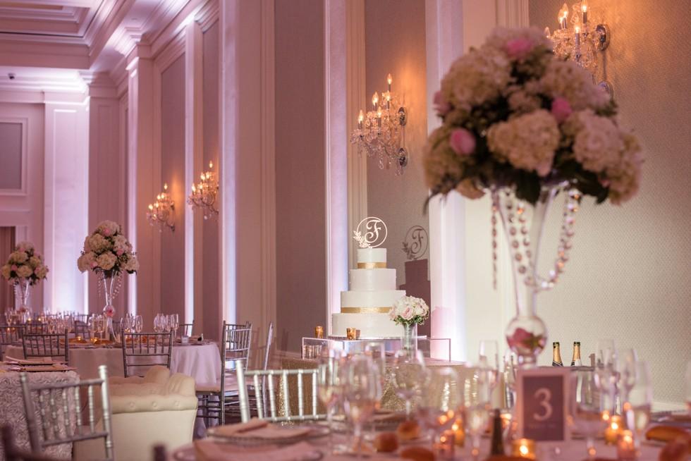 Finley Catering Ballroom reception