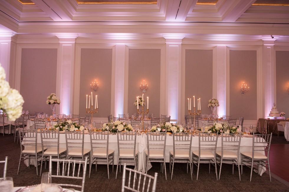 Ballroom at Ellis Preserve Finley Catering Ballroom reception
