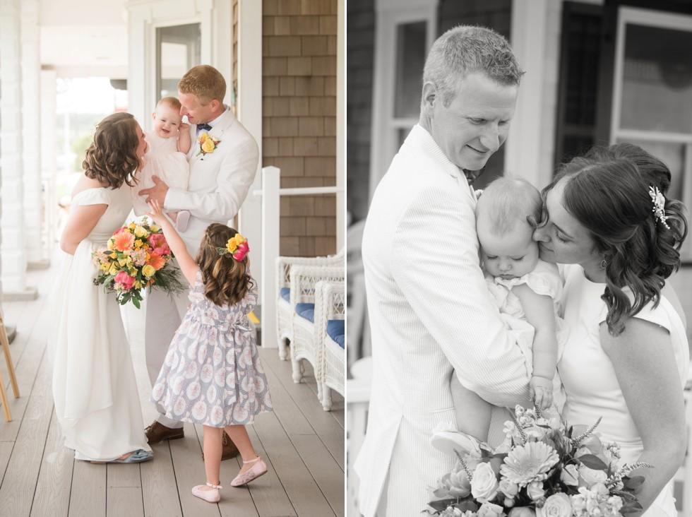 Addy Sea Bethany Beach Wedding Family Formals