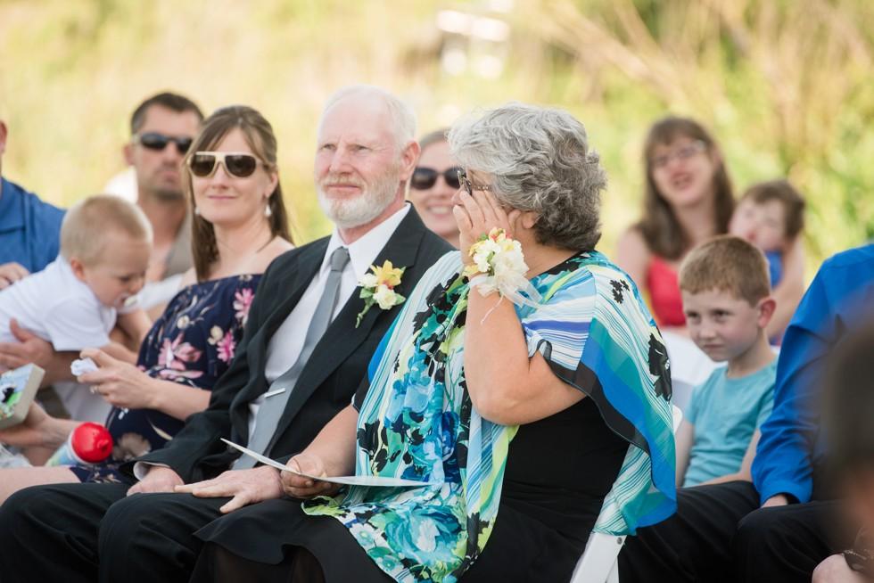 Addy Sea outdoor Bethany Beach wedding ceremony
