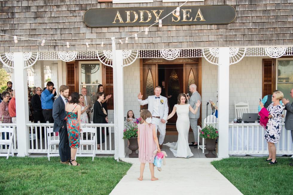 Addy Sea Wedding reception