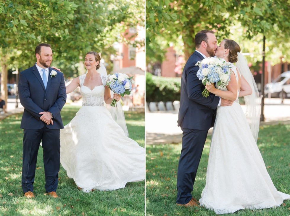 Bond Street Wharf Park Wedding Photos