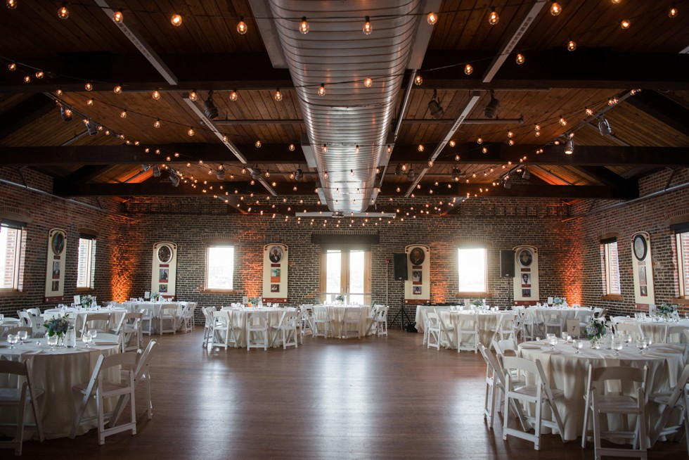 Fells Point Frederick Douglas Maritime Museum Wedding Reception