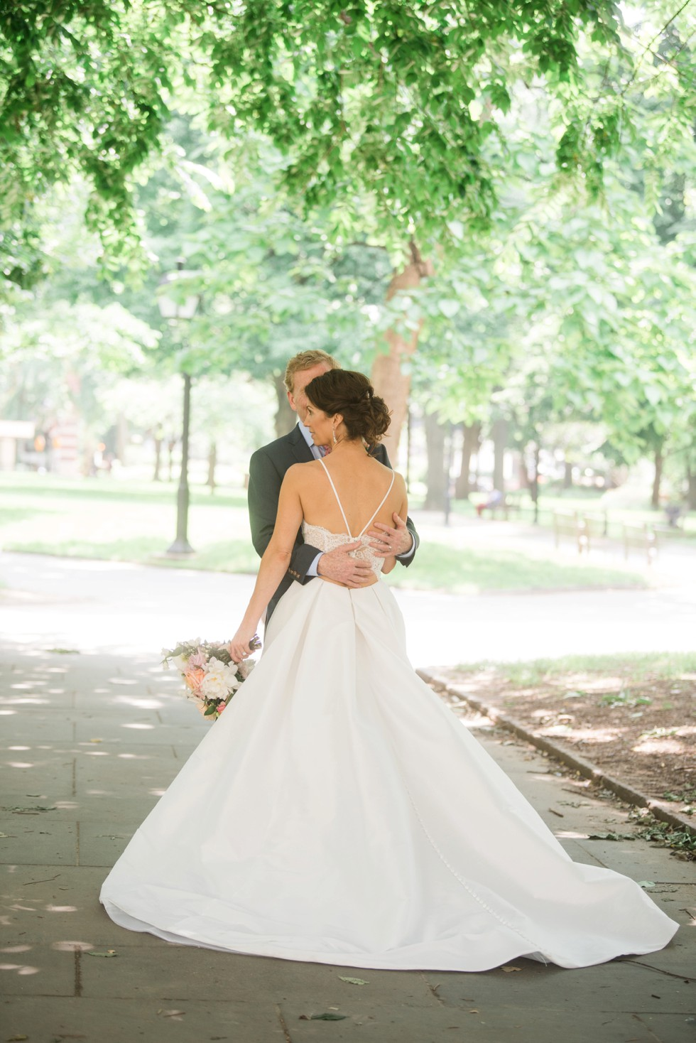 Intimate Garden Wedding in Washington Square Philadelphia