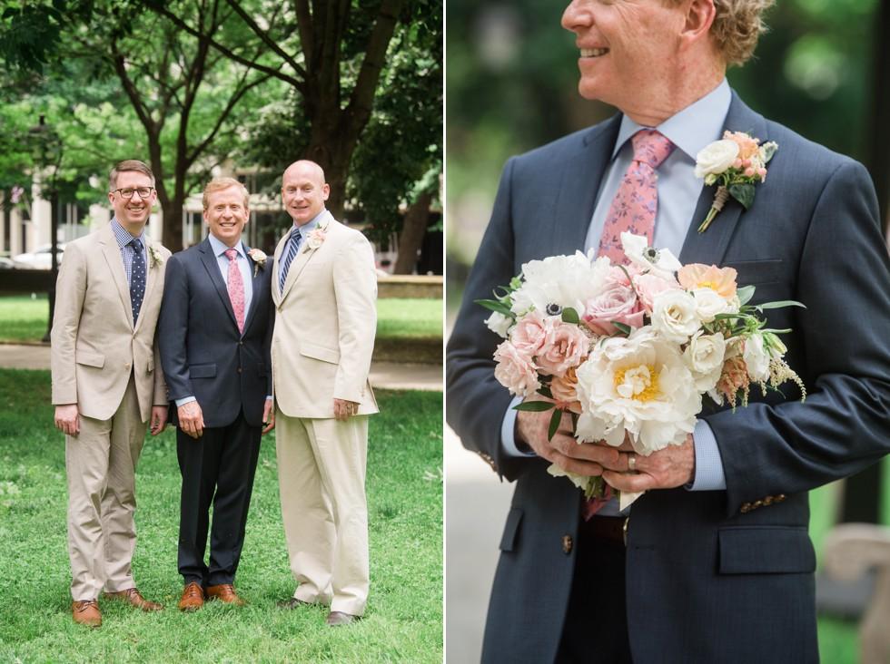 Washington Square Wedding in Philadelphia