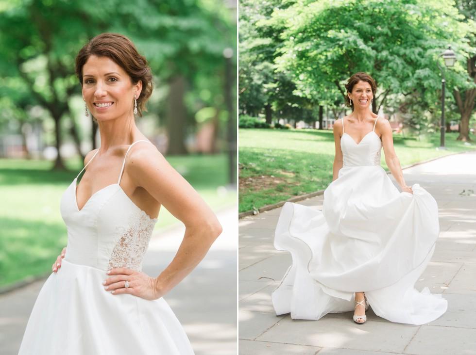 Washington Square Wedding photos in Philadelphia