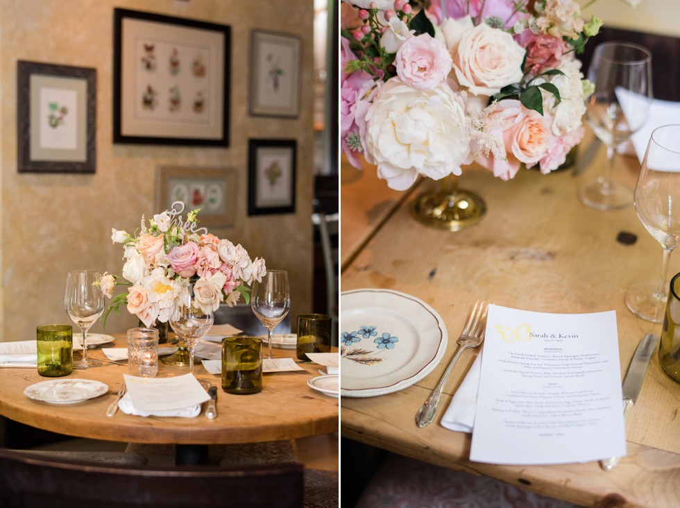 Talulas Garden Wedding Reception Fresh Designs Florist