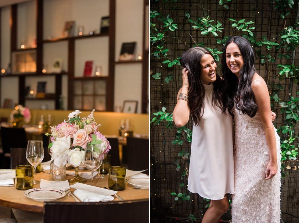 Fresh Designs Florist Talulas Garden Wedding Reception