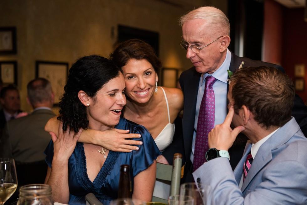 Intimate Talulas Garden Wedding Reception