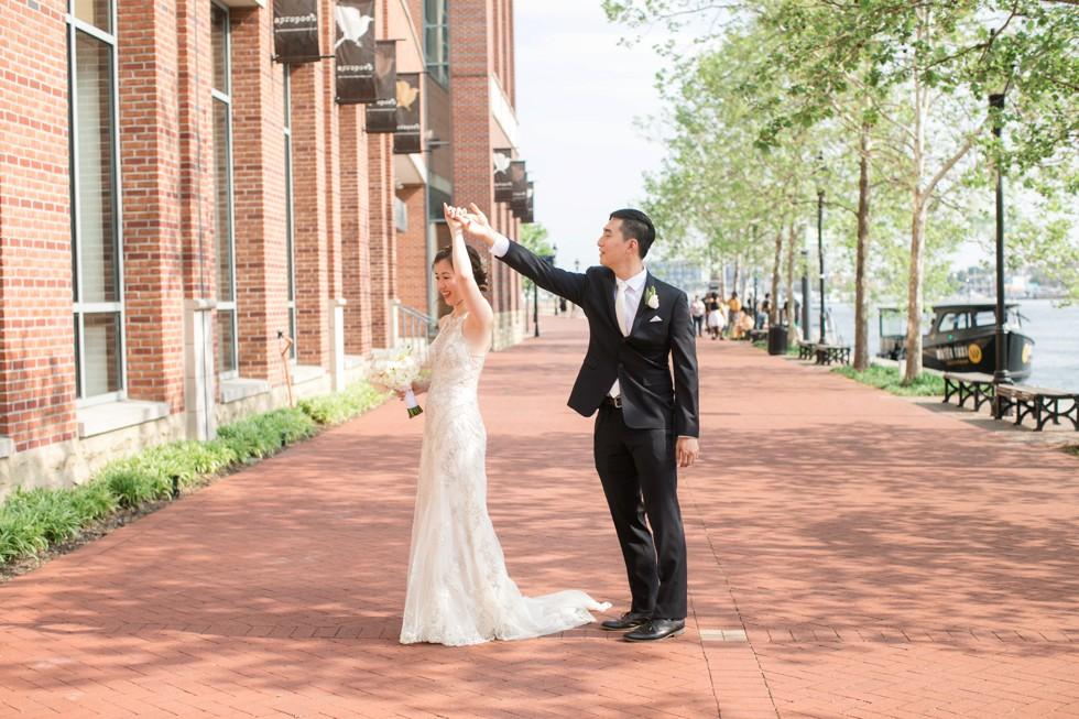 Baltimore Harbor Wedding photos