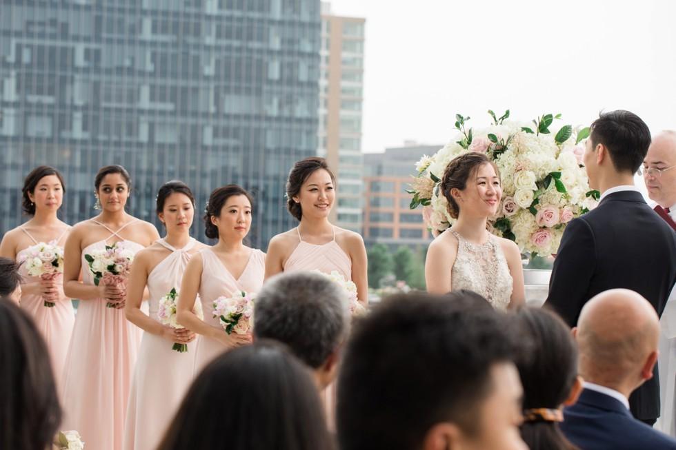 Legg Mason outdoor wedding ceremony