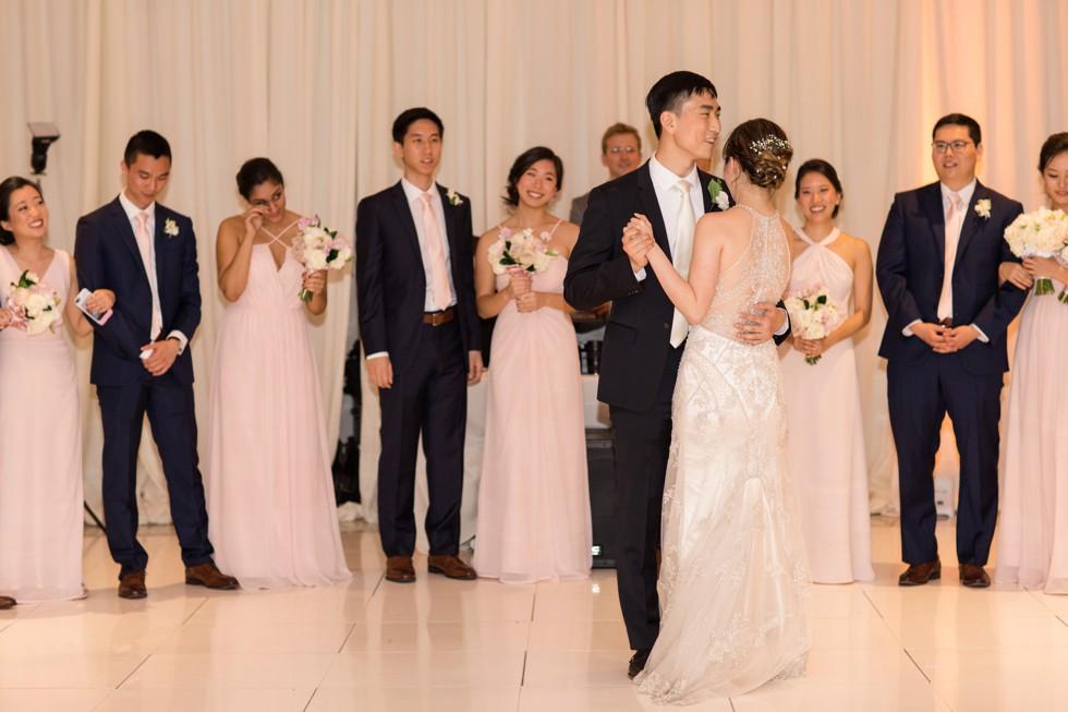 Bailey Weddings Baltimore Harbor wedding photographers