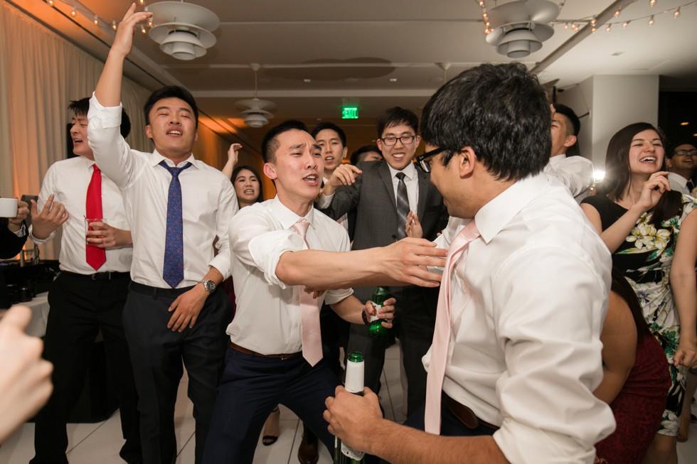 District Remix Baltimore Harbor wedding reception