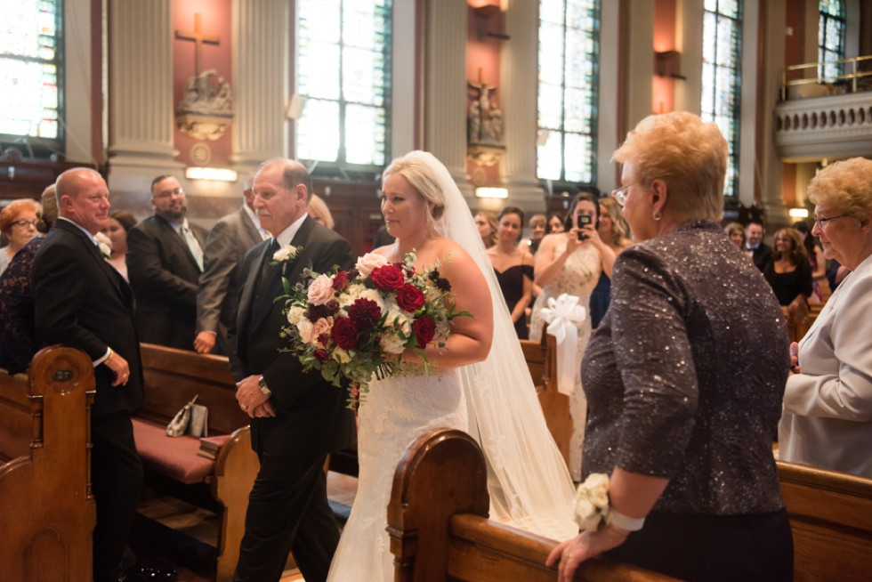 Philadelphia St Peter the Apostle Church Wedding ceremony