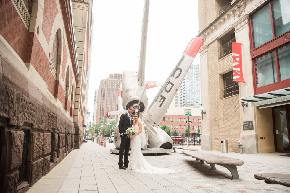 PAFA Wedding in Philadelphia PA