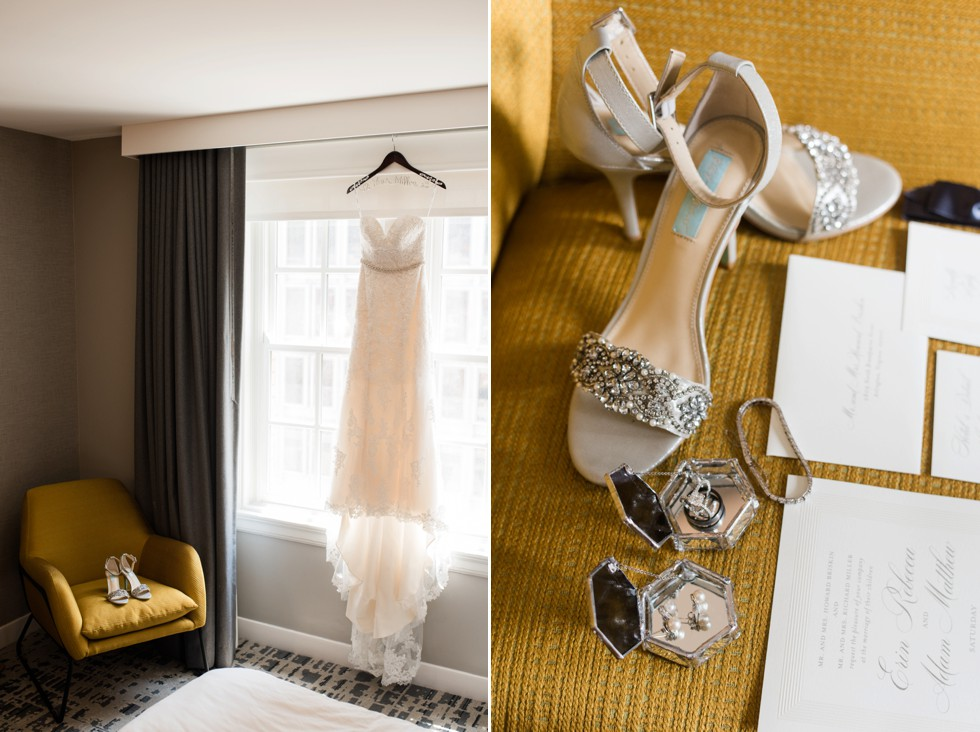 Le Meridien bridal details Wedding Factor dress
