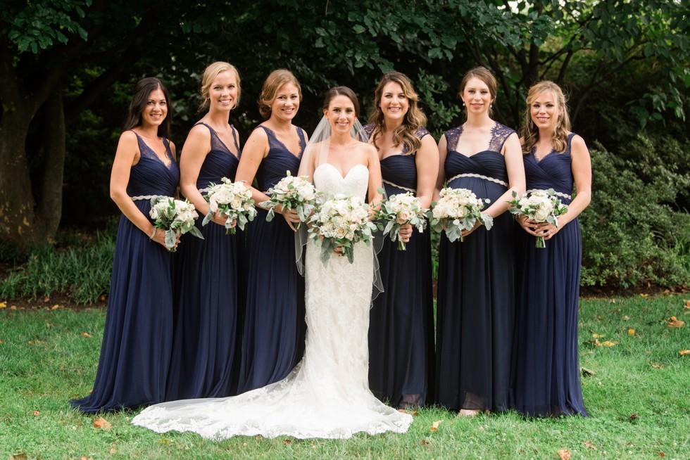 Azalea Garden PMA wedding bridal photos