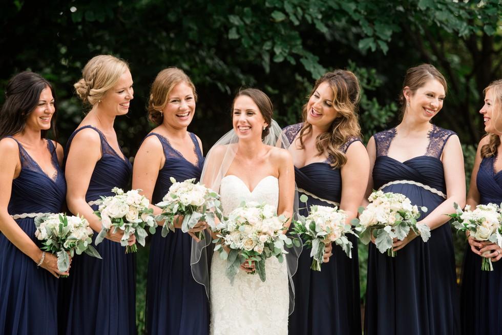 Azalea Garden bridal photos