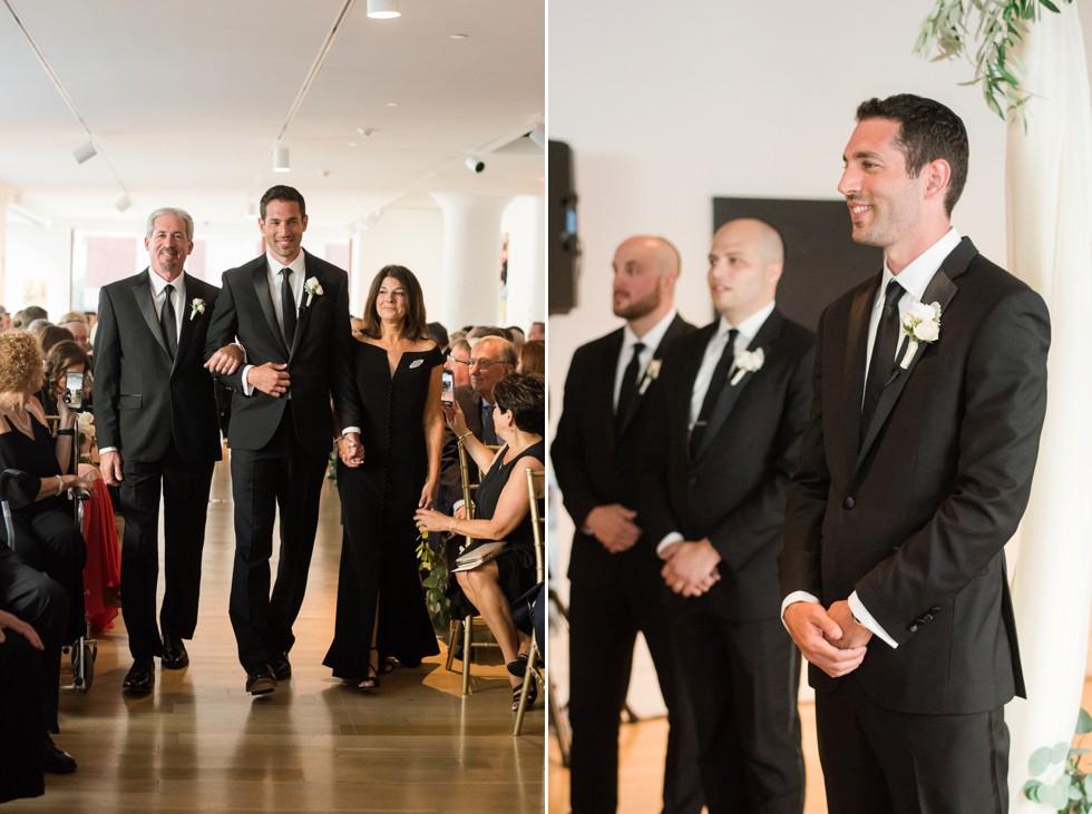 Table Art decor PAFA indoor wedding ceremony
