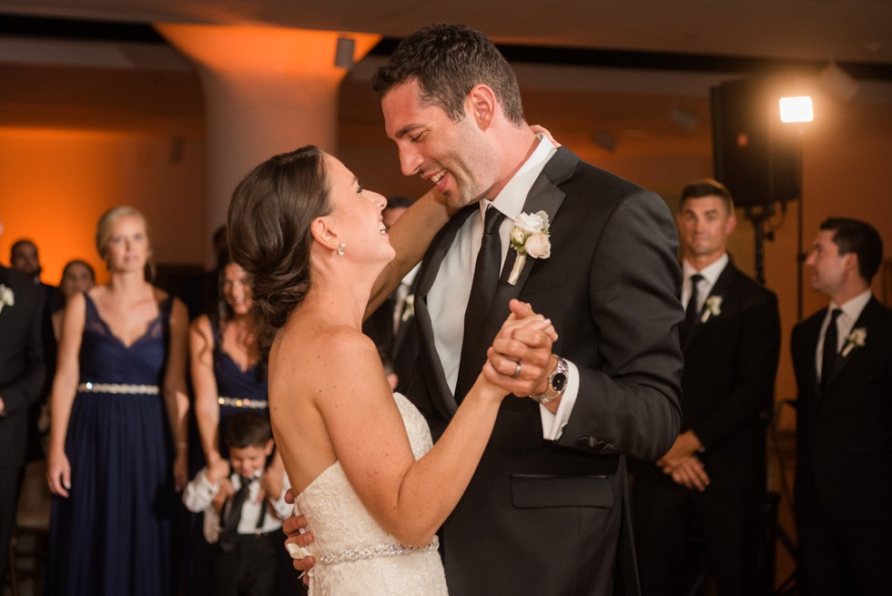 first dance Pennsylvania Academy of Fine Arts Hamilton wedding