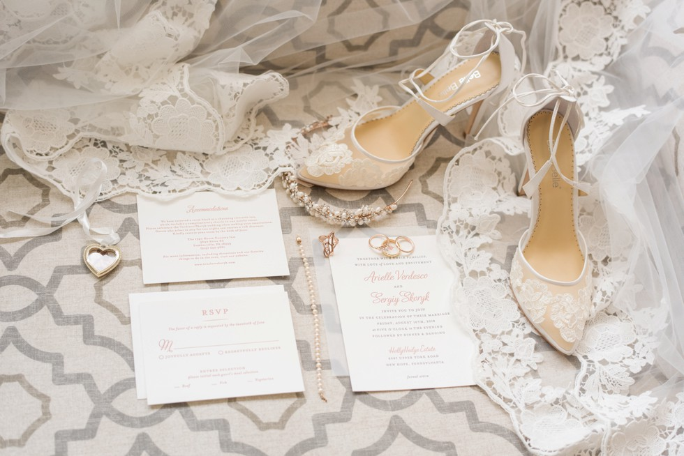 Holly Hedge estate wedding invitations from Minted