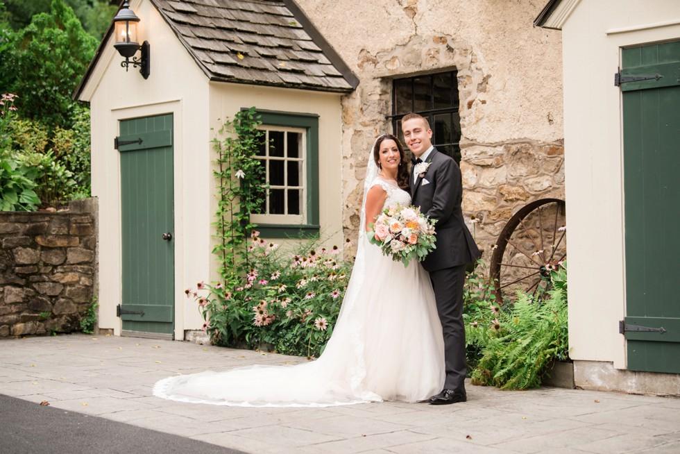 Holly Hedge estate New Hope PA wedding Couple