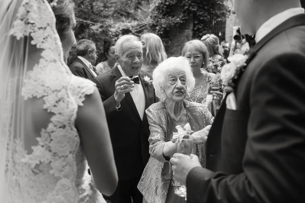 Holly Hedge Estate wedding grandparents