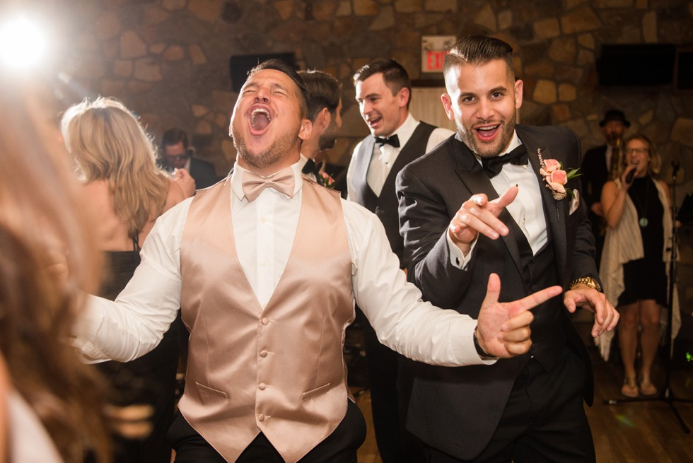 Holly Hedge Estate wedding reception Bachelor Boys Band
