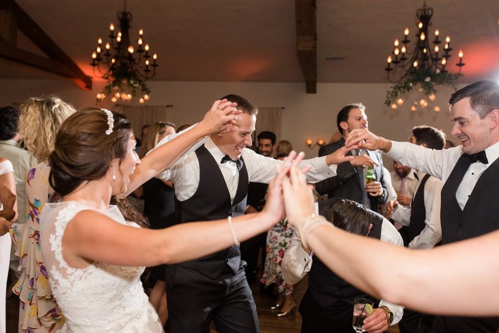 Holly Hedge Estate wedding reception