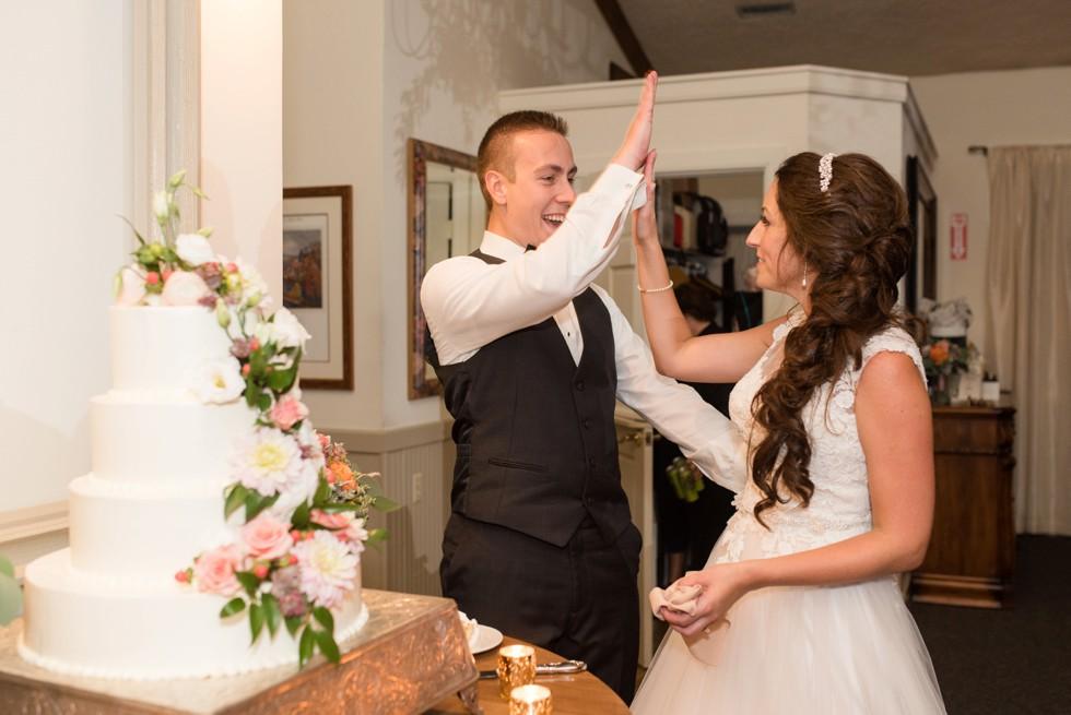 New Hope PA wedding reception