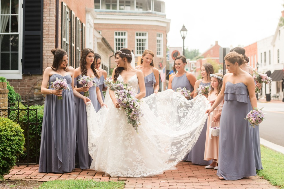 Bridesmaids in Easton at Tidewater inn