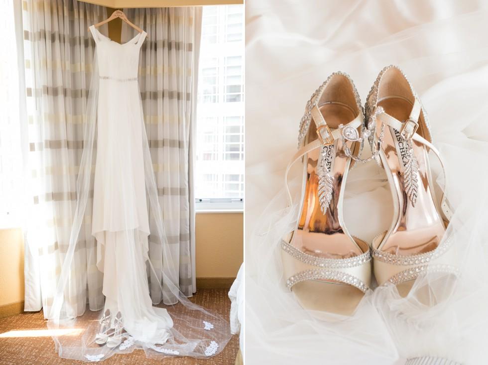 Garnish Boutique Baltimore wedding dress