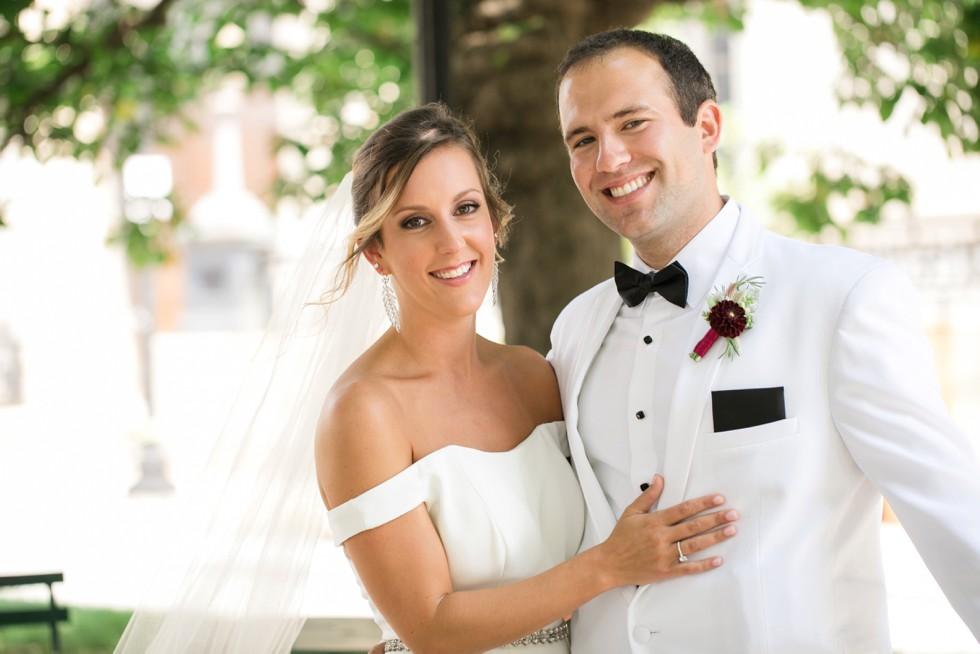 Mount Vernon Wedding first look
