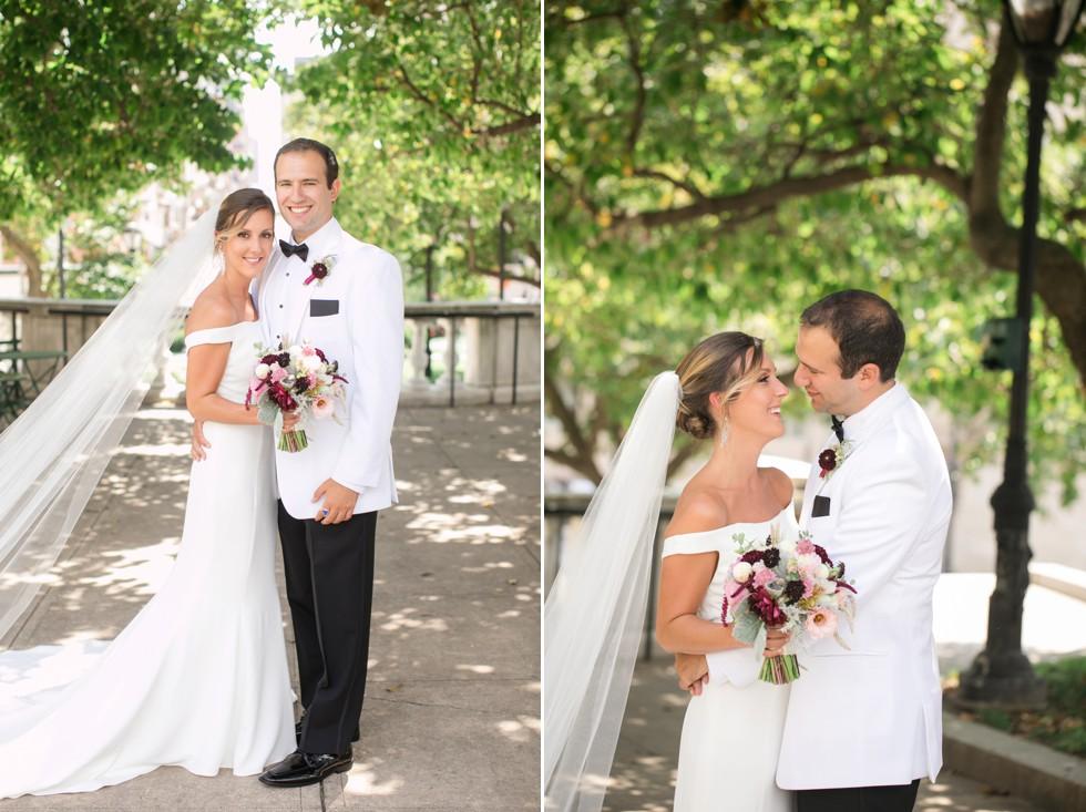 Mount Vernon Wedding couple portraits