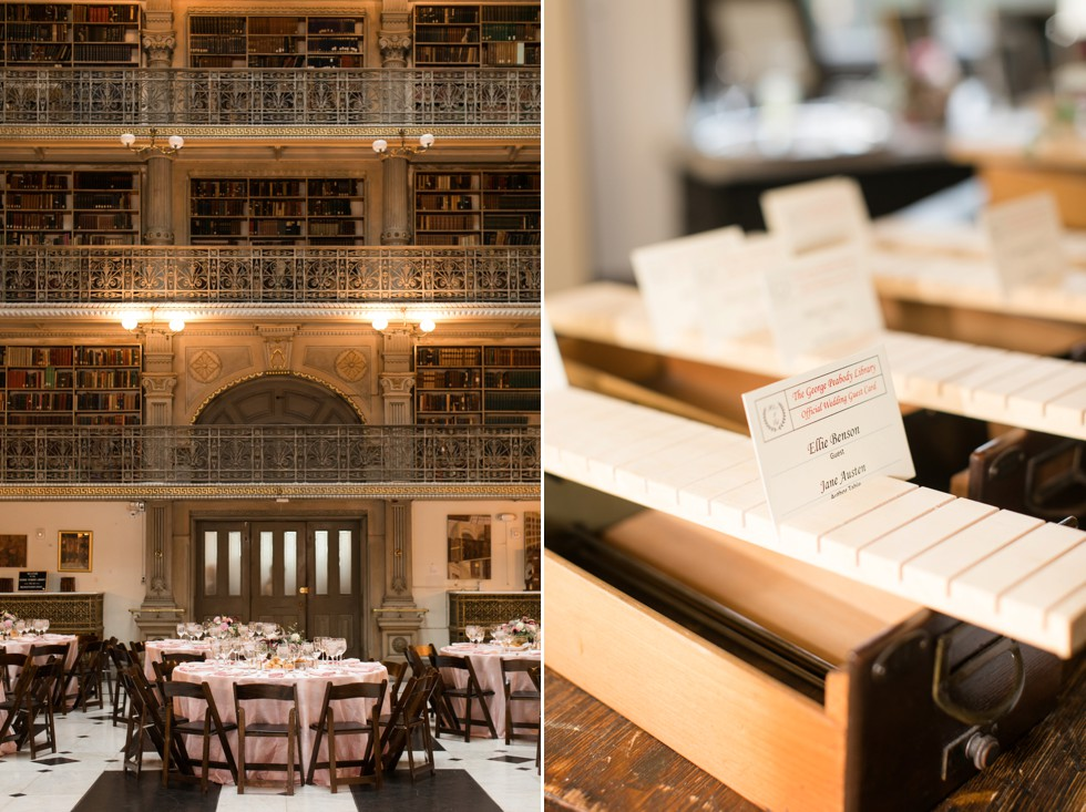 Simply Created Events Peabody library wedding