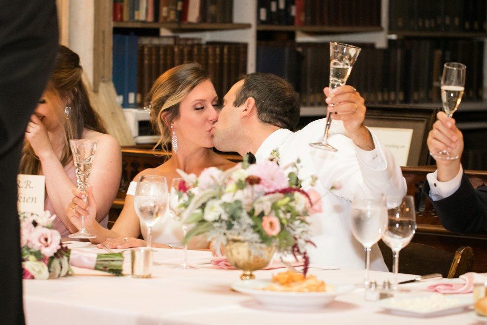 Peabody library wedding toasts