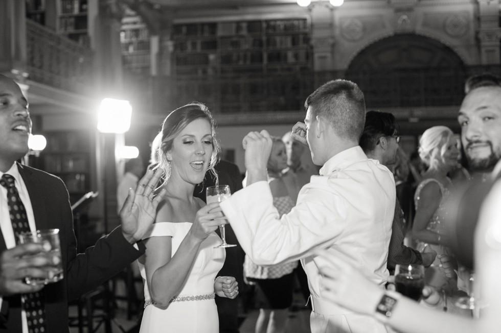 George Peabody Library wedding reception