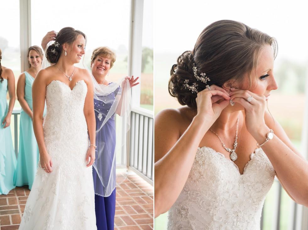 Maryland bridal prep