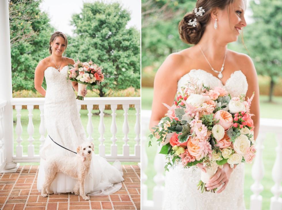 Friendly Farm Wedding Venue - Ann's Garden florals